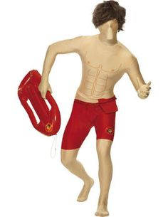 595a9fbeaafb Become David Hasselhoff with our Baywatch Second Skin Costume