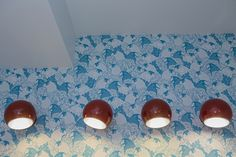 Lighting and wallpaper for kids' room in Bucharest