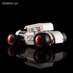 LEGO White Hot Rod Cars (Tutorial) Youtube I, Custom Decals, Hot Rods, Lego Vehicles, Cars, Instagram, Autos, Car, Automobile