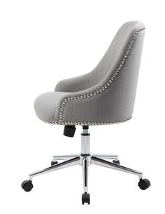 Ried Mid-Back Desk Chair  sc 1 st  Pinterest & Finally! A Comfortable Chair for My Home Office! | Between Naps on ...