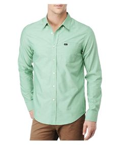 RVCA Mens   Shirts - That ll Do Oxford Ls 2450c71e8c46