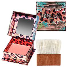 What it is: A warm coral-pink powder that warms up your complexion.What it does: Take a tropical pleasure trip with CORALista. Sweep this warm coral pink powder onto cheeks anytime, anywhere. Move your brush to the beat. #SephoraColorWash
