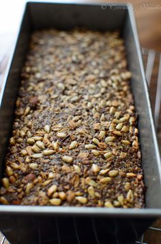 Nuss- und Saatenbrot [glutenfrei] - gluten-free seed and nut bread