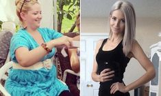 Obese mother loses 100lb after an unflattering Facebook photo #totalbodytransformation