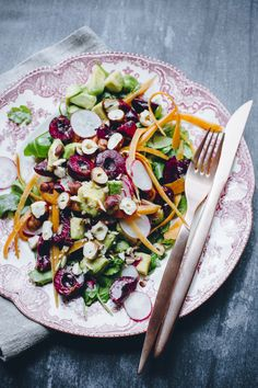 Sexy Summer Salad || by Grandmother's Figs for Welltodo London