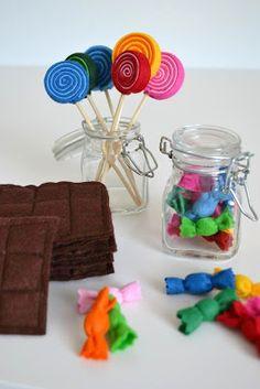 Süßkram für den Kaufladen