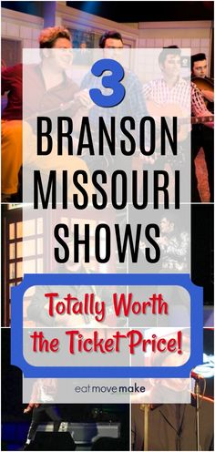 Taking a Branson Missouri vacation with or without kids? These three shows are well worth the ticket price and you& also find suggestions for how to narrow down the entertainment options! Find things to do you& love! Usa Travel Guide, Travel Advice, Travel Usa, Travel Guides, Travel Tips, Travel Destinations, Branson Shows, Branson Vacation, Branson Missouri