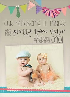 Baby first birthday twins bow ties 28 Ideas Baby first birthday twins bow ties 28 Ideas Twin Birthday Pictures, Twin Birthday Themes, Twin Birthday Parties, One Year Birthday, Twin First Birthday, Girl First Birthday, Baby Birthday, Birthday Ideas, Tutu