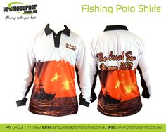 Coral Dream Tournament Fishing Shirts!   Call 0408 783 063 or e- enquiries@promocorner.com.au for more info. #fishingshirts