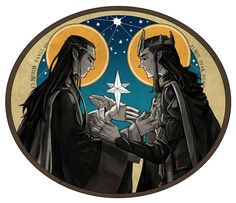 Elrond & Elros: twins of star //JaneDoemmmmm on deviantART
