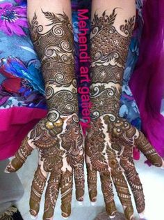 Bridal Mehandi Designs, Images Of Mehendi Designs