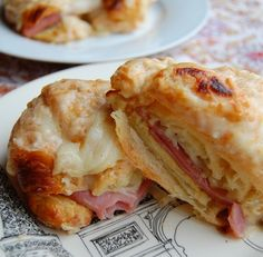 Croque Monsieurs with Gruyere and Parmesan