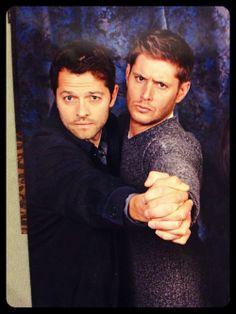 Supernatural - Jensen Ackles – Dean Winchester - Castiel – Misha Collins - Destiel