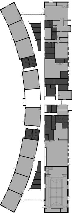 Elementary School Floor Plans New 54 Best Elementary School Designs Images Education Architecture, Architecture Drawings, School Architecture, Architecture Plan, School Floor Plan, School Plan, Primary School, Elementary Schools, Floor Plan Drawing