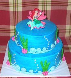 Coolest Little Mermaid Birthday Cake Mermaid birthday cakes
