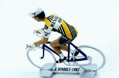 1983 Cyclist Figure Shell Peugeot Michelin Figurine Cycliste