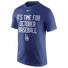 Los Angeles Dodgers Nike 2016 Postseason Playoff Local T-Shirt - Royal