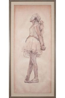 ART :: HOME :: Calypso St. Barth Degas Dancer 1 $1,945.00