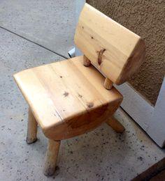 4/21. Handmade chair.
