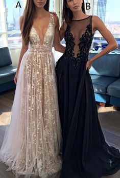 Beautiful Prom Dress, white prom dresses simple v neck tulle lace long prom dress lace evening dress modest evening gowns cheap party dresses graduation gowns Meet Dresses Prom Dresses 2017, A Line Prom Dresses, Prom Party Dresses, Ball Dresses, Ball Gowns, Dress Prom, Prom Gowns, Occasion Dresses, Wedding Dresses
