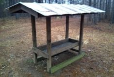 Father's Day Project Idea: DIY Deer Feeder