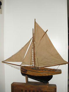 Voilier bateau de bassin michel fradet in jouets et jeux jouets jeux anciens ebay - Voilier de bassin ancien nanterre ...