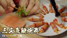 Plastic Cutting Board, Salmon, Rolls, Fish, Ethnic Recipes, Buns, Pisces, Bread Rolls, Atlantic Salmon