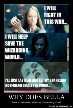 I like Twilight and all, but Lord of the Rings and Harry Potter are my absolute favorites
