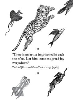 Bertrand Russell's 10 lessons for a creative, happy life – in pictures