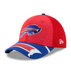 bbd09f2ba3a7e Buffalo Bills New Era Youth 2017 NFL Draft On Stage 39THIRTY Flex Hat - Red  -