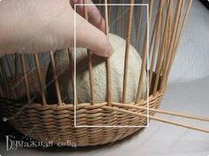 Мастер-класс Поделка изделие Плетение МК - шкатулка из бумаги 2 Бумага газетная Трубочки бумажные фото 8
