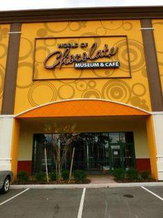 World of Chocolate Museum and Cafe....1 hour tour & sampling .....Orlando, Florida...8 Mins from Condo