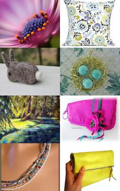 This etsy treasury by Patricia is filled to the brim with extraordinary colors and finds--Pinned with TreasuryPin.com