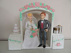 Fisher price figures #bride and groom #wedding set: loving family home #dolls hou,  View more on the LINK: http://www.zeppy.io/product/gb/2/222030137360/