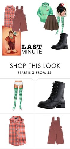 """Wreck it ralph"" by tonileemanuel-1 ❤ liked on Polyvore featuring RALPH and Poof"