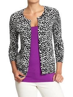 For Talls! Old Navy | Women's Button-Front Stretch Cardis