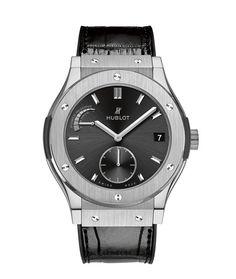La montre Classic Fusion Réserve de Marche 8 jours d'Hublot http://www.vogue.fr/vogue-hommes/montres/diaporama/horlogerie-montres-homme-bale-baselworld-2014/18294/image/992929#!montre-hublot-classic-fusion-reserve-de-marche-8-jours-bale-2014