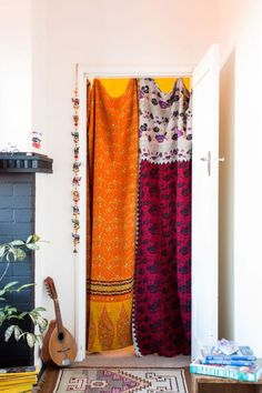 Like this idea for bedroom closet...