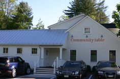 Community Table in Washington: A New Bar and Expanded DiningRoom - 223 Litchfield Turnpike (Rt 202) Washington, CT 860-868-9354 communitytablect.com