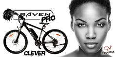 Bzooma 'Raven PRO' Raven, a mountain bike with tough, all terrain suspension suiting sport and recreation. Electric Scooter, Mountain Biking, Raven, Bicycle, Sports, Hs Sports, Bike, Bicycle Kick, Ravens