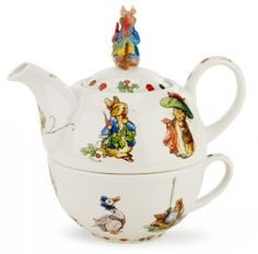 Peter Rabbit tea pot