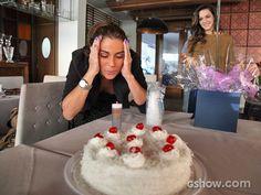 Parabéns pra você! Giovanna assopra a velinha e faz pedido (Foto: Carol Caminha/ TV Globo)