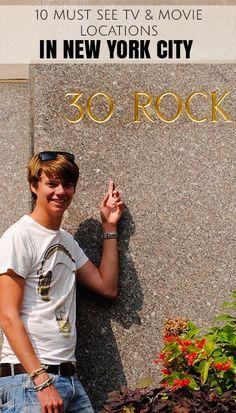 NYC filming locations - 30 Rockefeller Plaza