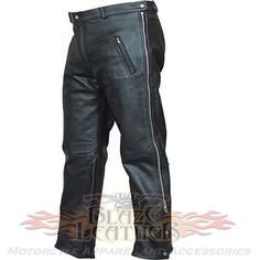 Allstate biker style side zip leather pants mens motorcycle overpants are leather biker pants or motorcycle overpants with pockets for men bikers & motorcycle riders. Motorcycle Riding Pants, Biker Pants, Cowhide Leather, Leather Men, Leather Pants, Biker Wear, Shopping Near Me, Biker Style, Bikers