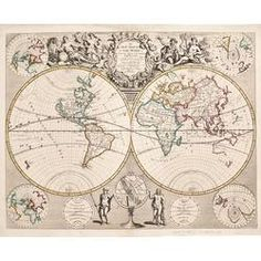 A New Map of the World from...