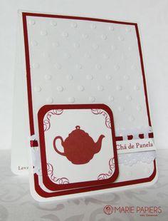 Convite para chá de panela.