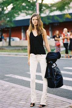 New York Fashion Week SS 2014....Kasia