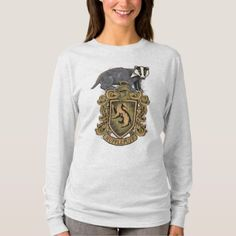 Harry Potter Hufflepuff Crest with Badger T-Shirt , Voldemort, American Eagle Outfits, American Apparel, Harry Potter, Slytherin, Gym Clothes Women, Fandom Outfits, Emo Outfits, Womens Workout Outfits