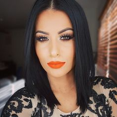 """#mayfair  @colouredraine ""Electric Raine"" on the lips (code:amrezy for 10% off) """