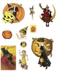 more fun free Halloween clip art Halloween Images, Halloween Cards, Holidays Halloween, Vintage Halloween, Halloween Diy, Spooky Treats, Halloween Treats, Halloween Clipart Free, Halloween Printable